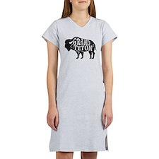 Grand Teton Buffalo Women's Nightshirt
