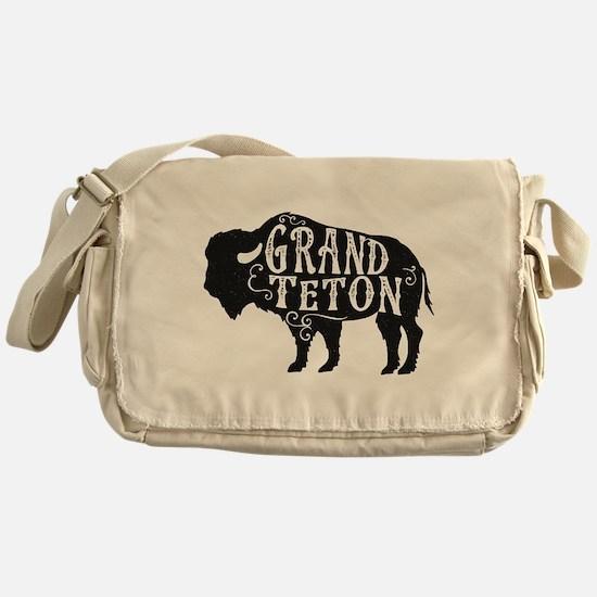 Grand Teton Buffalo Messenger Bag