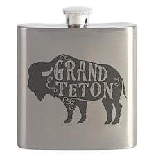 Grand Teton Buffalo Flask