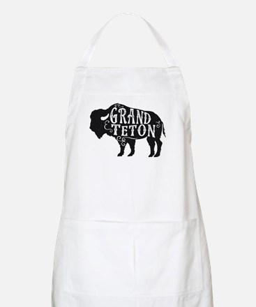 Grand Teton Buffalo Apron