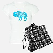 Grand Teton Buffalo Pajamas
