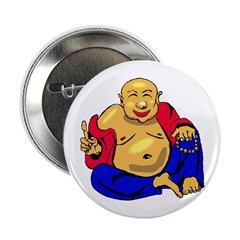 Happy Buddha Button