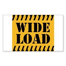 WIDE LOAD Decal