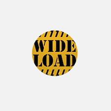 WIDE LOAD Mini Button