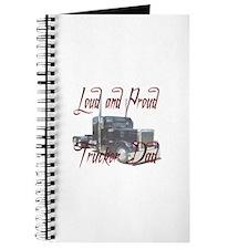 Loud and Proud Trucker Dad Journal