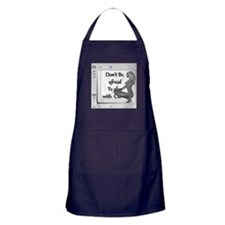 Don't be afraid to play with curves Apron (dark)