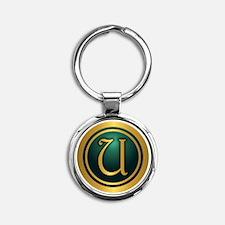 Irish Luck U Keychains