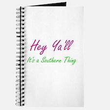 Hey Ya'll 1 Journal