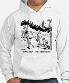 Fire Cartoon 3603 Hoodie