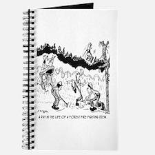 Fire Cartoon 3603 Journal