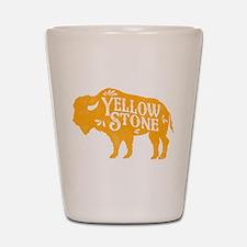 Yellowstone Buffalo Shot Glass