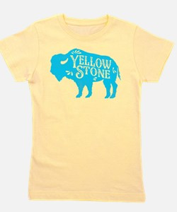 Yellowstone Buffalo Girl's Tee