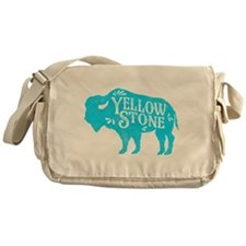 Yellowstone Buffalo Messenger Bag