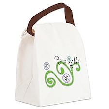 Runs Hills Canvas Lunch Bag