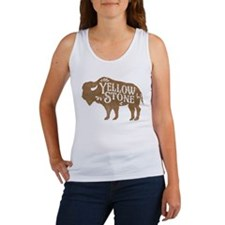 Yellowstone Buffalo Women's Tank Top