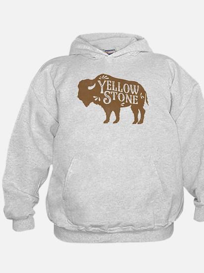 Yellowstone Buffalo Hoody
