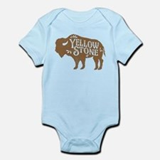 Yellowstone Buffalo Infant Bodysuit
