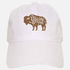 Yellowstone Buffalo Baseball Baseball Cap