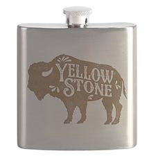 Yellowstone Buffalo Flask