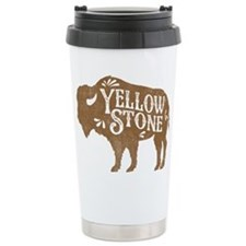 Yellowstone Buffalo Travel Coffee Mug