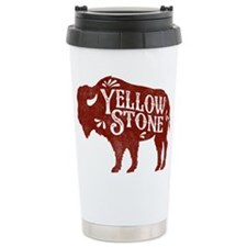Yellowstone Buffalo Travel Mug