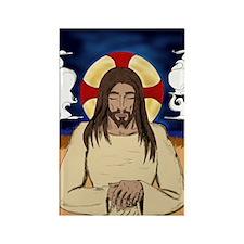 Meditating Jesus Magnet (100 Pack) Magnets