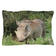 Funny Warthog Pillow Case