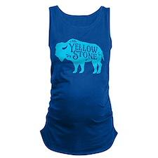 Yellowstone Buffalo Maternity Tank Top