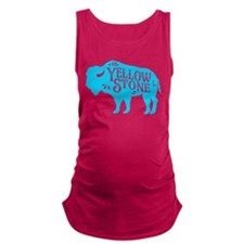 Yellowstone Buffalo Maternity Tank Top