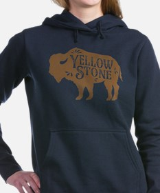 Yellowstone Buffalo Women's Hooded Sweatshirt