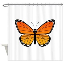 Monarch Butterfly Shower Curtain