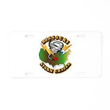Storm Chaser - Missouri Aluminum License Plate