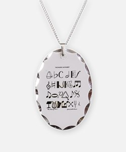 Cute Piano teacher Necklace