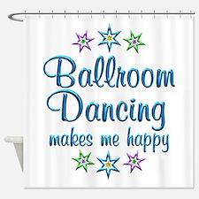 Ballroom Happy Shower Curtain