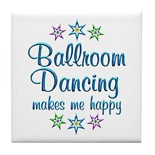 Ballroom Happy Tile Coaster