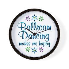 Ballroom Happy Wall Clock