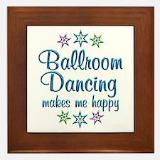 Ballroom Happy Framed Tile