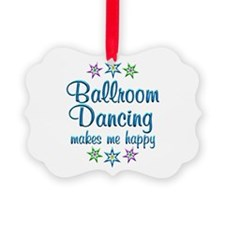 Ballroom Happy Ornament