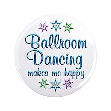 "Ballroom Happy 3.5"" Button (100 pack)"