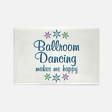 Ballroom Happy Rectangle Magnet
