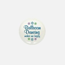 Ballroom Happy Mini Button (10 pack)