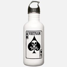 VIETNAM DEATH CARD Water Bottle