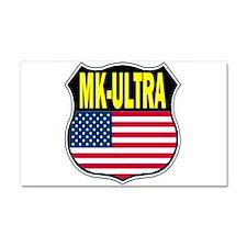 PROJECT MK ULTRA Car Magnet 20 x 12