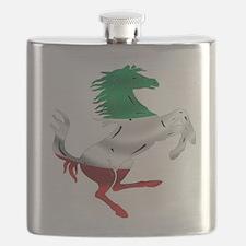 Italian Stallion Italy Flag Flask