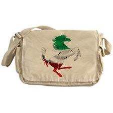 Italian Stallion Italy Flag Messenger Bag