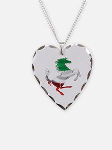 Italian Stallion Italy Flag Necklace
