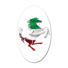 Italian Stallion Italy Flag Wall Decal