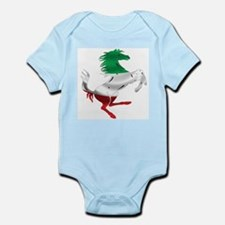 Italian Stallion Italy Flag Infant Bodysuit