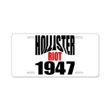 Hollister Riot 1947.png Aluminum License Plate