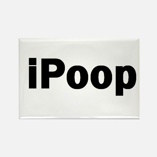 ipoop Rectangle Magnet